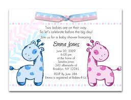 baby shower invitations for twins marialonghi com