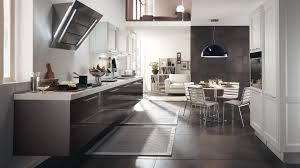 Italian Kitchen Furniture Kitchen Design Pictures White Table Ceramic Floortile Black