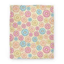 donut wrapping paper donut pattern blanket lookhuman