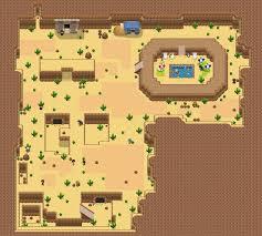 Desert Map Route 5 Barren Desert Map By Snivy101 On Deviantart