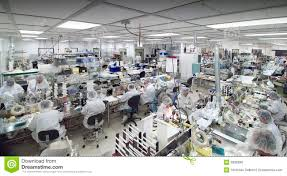 clean room manufacturing royalty free stock image image 2828006