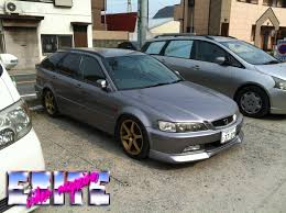 honda accord jdm 2000 2002 honda accord wagon r cl1 exite video magazine