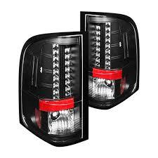 2009 chevy silverado tail lights spyder chevy silverado 2009 2010 black led tail lights