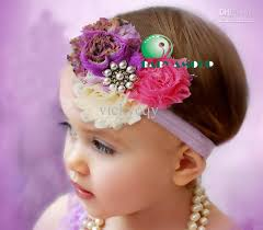 flower hair band wholesale new baby s headband baby headdress flower hair band