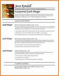 Sample Resume For Sous Chef Head Chef Resume Head Chef Resume Templates Examples Job