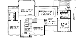 Colonial Open Floor Plans Spacious Colonial With English Manor Appeal 3750tm