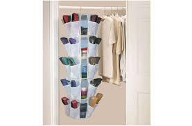 shoe organizer closet hanging roselawnlutheran