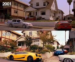 Fast And Furious 6 Meme - fast and furious in house 2001 vs 2013 movie hq by gt4tube on