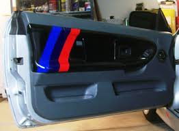Car Part Home Decor Bmw E36 Series Door Panel M3 Series Transformation By
