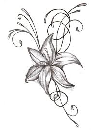 easy flower tattoo designs how to draw a simple rose tattoo design
