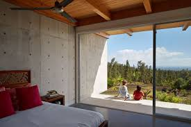 Glass Wall House by Wide Open Home Plan On Big Island Of Hawaii