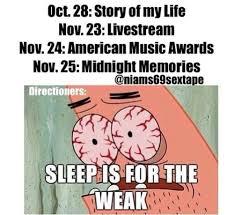 Sleep Is For The Weak Meme - sleep is for the weak on we heart it