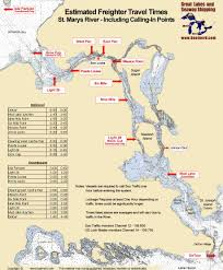 Michigan River Map by Great Lakes Fact And Figures