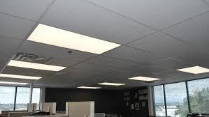 office fluorescent light alternative led panel standard