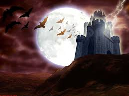 halloween castle background halloween wallpaper and background 1600x1200 id 305706