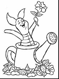 fabulous winnie the pooh and piglet coloring pages with disney jr