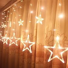 two tone mini christmas lights christmas star lights amazon com