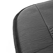 amazon com wagan in2282 black 12v faux leather deluxe heated seat