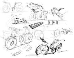 bicycle sketches and renderings by james thomas via behance bike