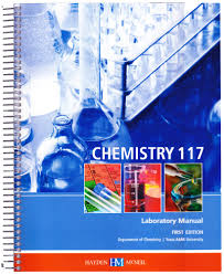 chemistry 117 laboratory manual texas a u0026m department of chemistry