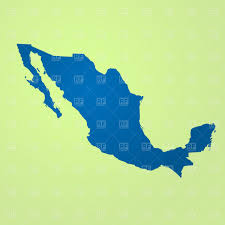 map of mexico vector image 61276 u2013 rfclipart