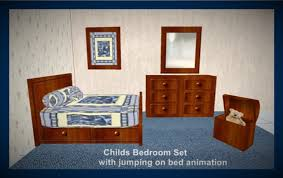 second life marketplace childs bedroom set blue quilt with