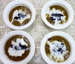 cara membuat bubur kacang ijo empuk resep bubur kacang ijo ketan hitam spesial madura resep aneka