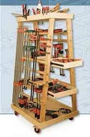 Wood Storage Rack Woodworking Plans by 119 Best Clamps Storage Images On Pinterest Workshop Ideas
