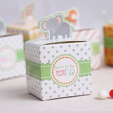 baby shower souvenirs 100pcs animals gift box birthday boy baby shower favors boxes