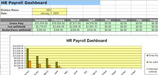 human resource payroll spreadsheet templates