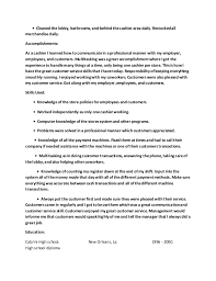 Resume With Accomplishments Service Manager Cover Letter Admission Essay Ghostwriter Website