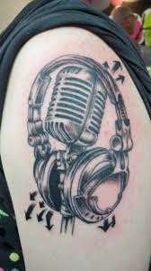 25 headphones tattoos meanings photos designs for men and women