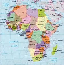 Africa Countries Map by African Countries