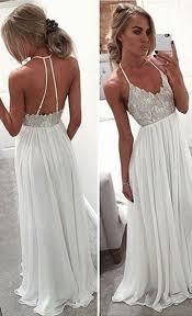 25 beste ideeën over white long prom dresses op pinterest grote