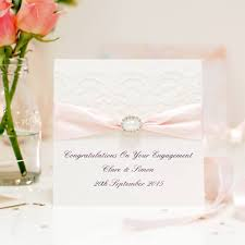 congratulations engagement card pearl engagement cards with the posh touch posh handmade