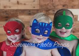 monkey birthday party favors personalized pj masks cape mask