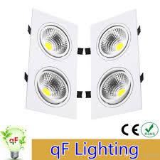 cheap dhl double head 12w 20w 28w led lighting cob downlight