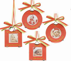 christal accents family photo ornaments mud pie