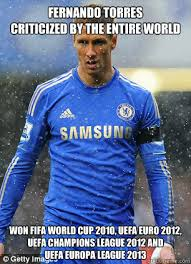 Fernando Torres Meme - fernando torres criticized by the entire world won fifa world cup