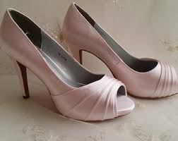 wedding shoes pink pink wedding shoes etsy