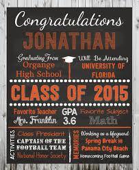 graduation poster personalized graduation poster congratulations graduate