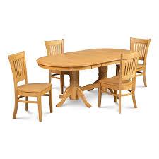 oval dining room set shop m u0026d furniture somerville oak dining set with oval dining