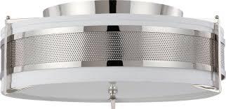 lighting beautiful nuvo lighting 60 4447 flush mount lighting