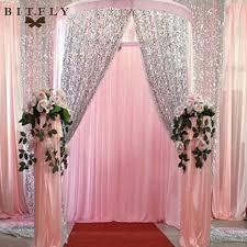 wedding backdrop material aliexpress buy bitfly us stock sequin fabric diy for