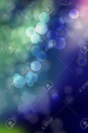 beautiful arrangement of circles in shades of green blue purple