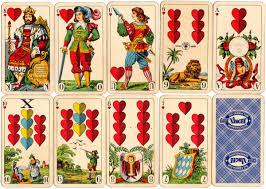 bavarian pattern the world of cards