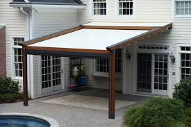 Backyard Shade Canopy by Homemade Patio Shades Gennius Pergola Awning With Cover