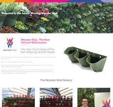 self watering vertical planters chorley web design