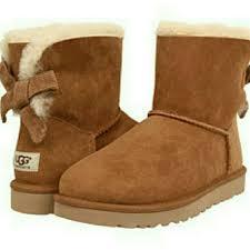 ugg boots bailey bow mini sale 33 ugg boots nib ugg mini bailey bow corduroy from