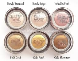 image result for maybelline color pink gold up